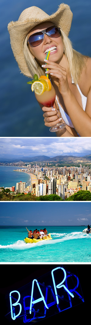 Cheap Flight And Hotel Packages To Benidorm